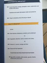 Lobster House Breakfast menu by Lovethesun