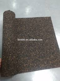 Eco Rubber Foam Soundproof Underlay For Carpet Or Wood Floor/ Laminated  Floor