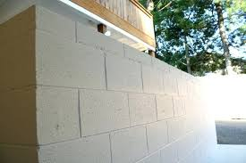 painting exterior cinder block for painting block wall