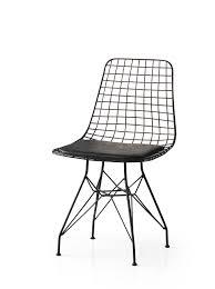4er Set Iron Esszimmerstuhl Metallstuhl Metalldraht Stuhl Schwarz Ceres Webshop