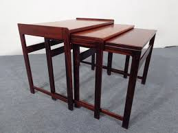 Nesting Tables Vintage Danish Nesting Tables In Rosewood For Sale At Pamono