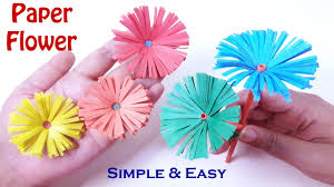How To Make A Beautiful Flower With Paper How To Make Beautiful Paper Flowers Diy Crafts Origami Flower Very