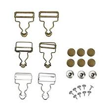 Overalls Buttoned Hooking Metal Buckles Gourd ... - Amazon.com
