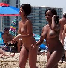 Nude videos of blacks beach