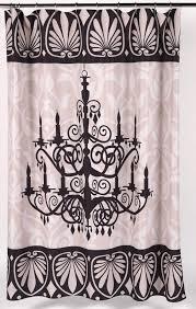 luminere fabric shower curtain