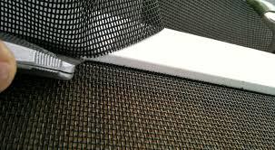 how to install sliding screen door bug seal saudireiki
