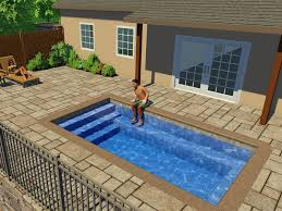 Fiberglass Swimming Pool Designs Interesting Inspiration Design
