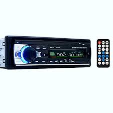 single din car stereo amazon co uk bluetooth car audio stereo 1 din in dash 12v fm receiver usb mp3 radio player usb sd input aux receiver remote control