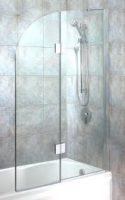 tub glass doors bathtub with a door oil rubbed bronze full size