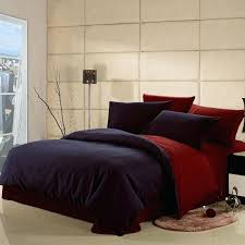 dark brown duvet cover king dark blue and claret red solid pure color 100 cotton simply modern chic full queen size bedding sets dark teal duvet covers dark