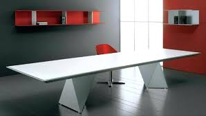 white conference table white angular conference table white gloss meeting room table white round meeting room
