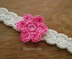 Crochet Baby Headband Pattern Extraordinary Free PDF Baby Crochet Pattern For Two Colour Headband Httpwww