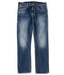Silver Jeans Co Grayson Performance Stretch Relaxed Straight Jeans