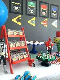 Great Power Rangers Bedroom Accessories Power Ranger Room Decor Its Time Give  Your Mighty Birthday Star And