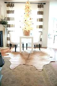 faux cowhide rug s gold black cow skin ikea canada small and white