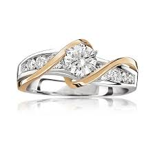 lila rose brilliant cut engagement ring 1 15ct t w
