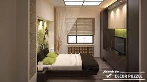 Japanese Bedroom Design For Small Bedrooms   Wall Lighting Ideas