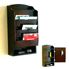 wall mount mail organizer office paper canada