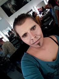 self makeup lezione di caratterizzazione piero pelù con lucia pittalis presso romeur beauty accademy roma