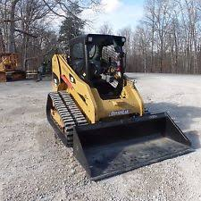 caterpillar skid steer 2012 caterpillar 279c2 cat tracked skidsteer nice shape clean video