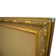 ballard designs ballard designs cork board in gold frame second hand