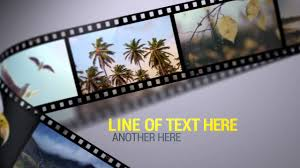 Film Strips Pictures Film Strips After Effects Template Youtube