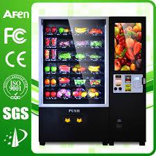 Fruit Vending Machine Fascinating Fruit Vending MachineHUNAN AFEN VENDING MACHINE COLTD