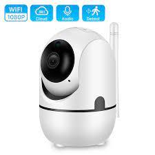 Bulut 1080P PTZ IP kamera otomatik izleme 2MP ev güvenlik güvenlik kamerası  ağ WiFi IP kamera kablosuz kamerası YCC365 bebek izleme  monitörü|Surveillance Cameras