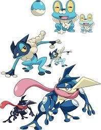 Pokemon Froakie Evolution Chart Evolution Froakie Evolution