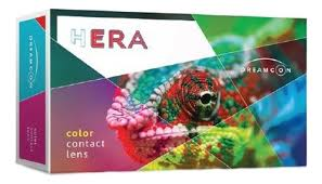 <b>Цветные контактные линзы Hera</b> Color Rise 1-Tone (2 линз ...