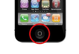 iphone home button. iphone home button d