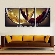 kitchen paintingshand paint ideas kitchen decorative oil paintings on canvas wine