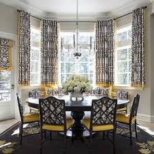 Other Nice Dining Room Bay Window Treatments Throughout Other Dining Room  Bay Window Treatments Modern
