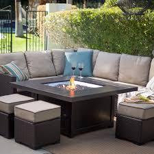 Patio Sets With Gas Fire Pit Table sensational ideas patio