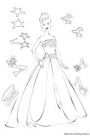Fashion Model Coloring Pages At Getdrawingscom Free For Personal