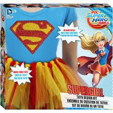 Design Your Own Tutu Kit Fashion Angels Dc Superhero Girls Supergirl Tutu Kit Express