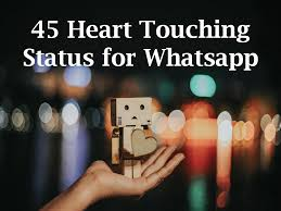 40 Heart Touching Status For Whatsapp Beauteous Beautiful And Heart Touching Cation For Facebook