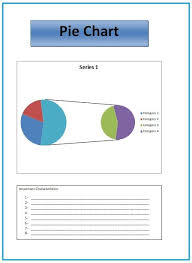 Characteristics Of Pie Chart Pie Chart Templates 4 Printable Pdf Excel Word