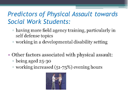 Prevalence And Effects Of Client Violence On Social Workers