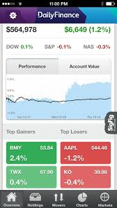 Aol Finance Stock Quotes DailyFinance Stock Quotes and Business News App Store revenue 3