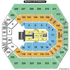 Bankers Fieldhouse Concert Seating Chart 51 Conclusive Bankers Life Field House Seating Chart
