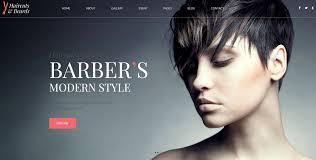 Barber Shop Website Your Barber Barbershop Website Design Idea Unique Net Designs