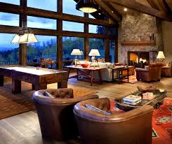 family game room family room rustic. rocky mountain game room rusticfamilyroom family rustic
