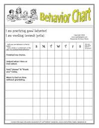behavior charts for preschoolers template printable behavior charts nice set up for younger children