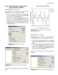Difference Between C Chart And P Chart A18 3 Cd Rom Topic Using Spss For Control Charts