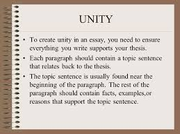 unity and coherence in an essay % original essay writing tips paragraph unity and coherence