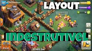 Layout Indestrutivel Cv4 Th4 Cc4 Clash Of Clans Youtube