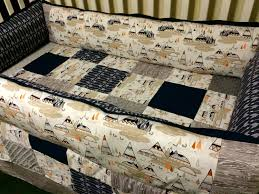 arrows and tee custom baby bedding navy arrows aztec tribal crib bedding