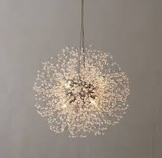 very beautiful round small crystal chandelier