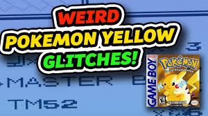 WEIRD Pokemon Yellow Glitches! - YouTube